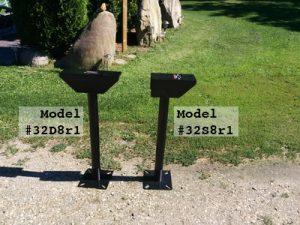 Stanz pedestals